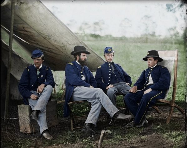 Stunning portraits from American Civil War bright back to life in colour