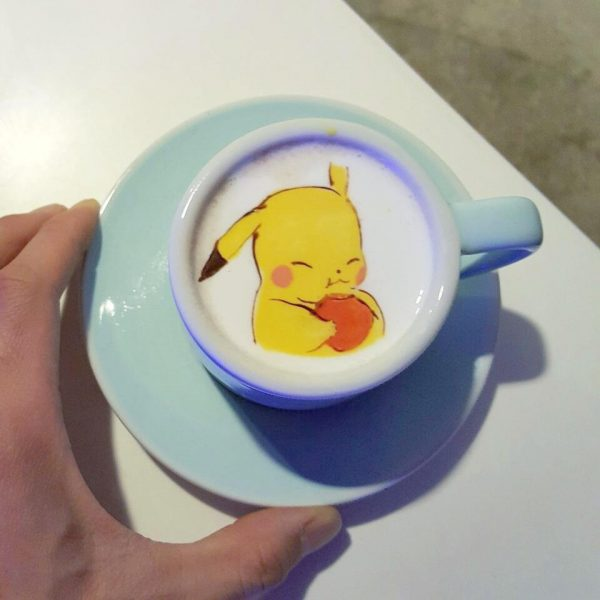 Barista Creates Amazing Art Work In His Cups Of Coffee